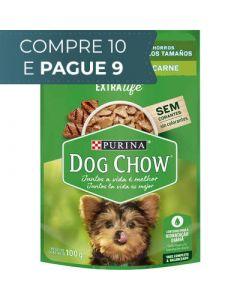 Sachê Dog Chow Purina - sabor carne para cães filhotes