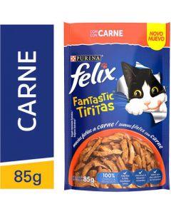 Sachê Purina Felix Fantastic Tiritas - Carne