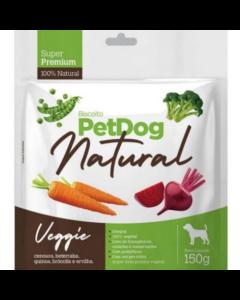 Biscoito PetDog Natural - Veggie 150g